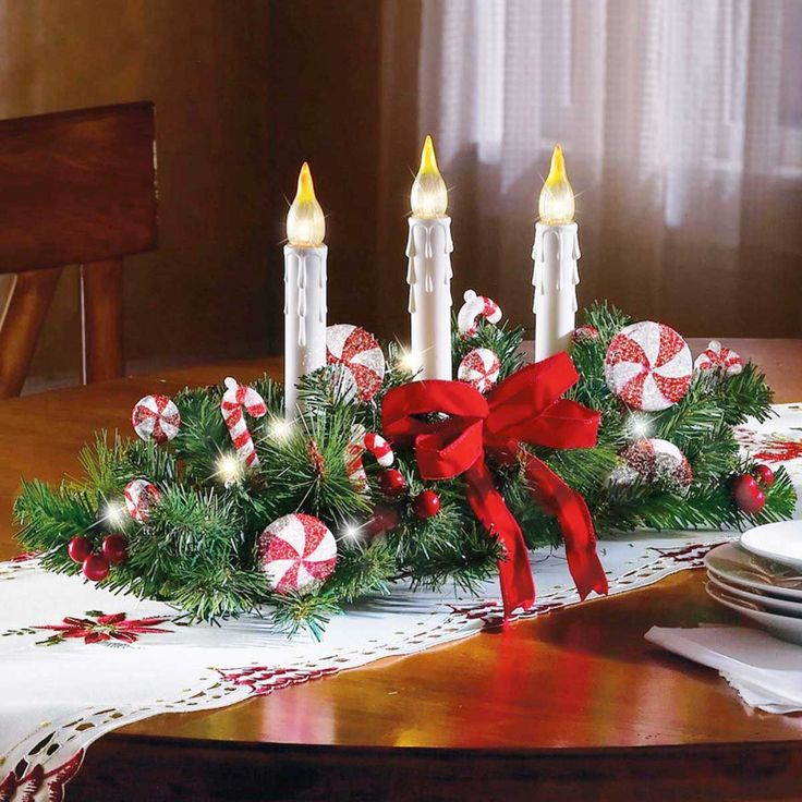 Modern christmas centerpiece home design