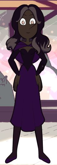 A beautiful dress for and beautiful gem lady. Simple yet elegant.
