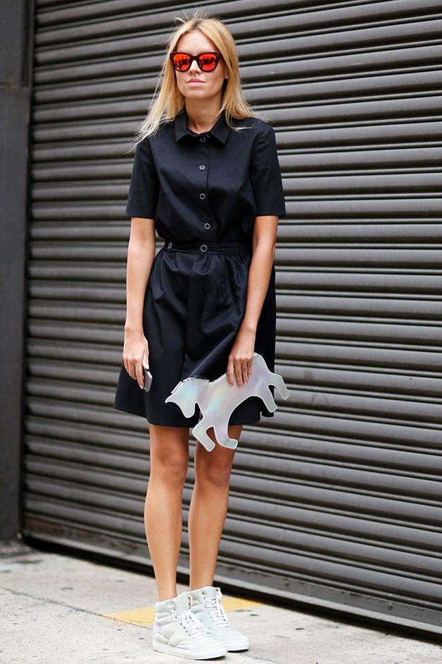 Лето в городе, часть 3: платье-рубашка   Мода   VOGUE