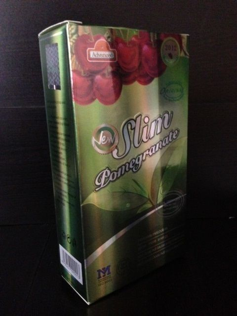 SLIM POMEGRANATE 2012  SLIMMING 30 Capsules loss weight fast