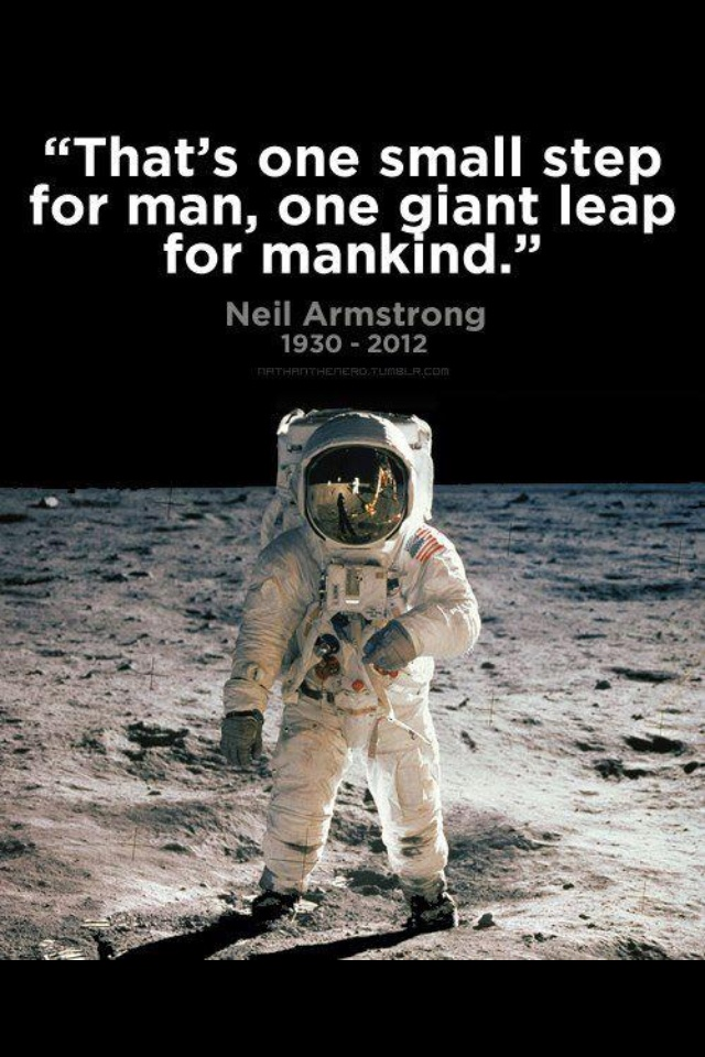 The first man on the moon leaves this world once more