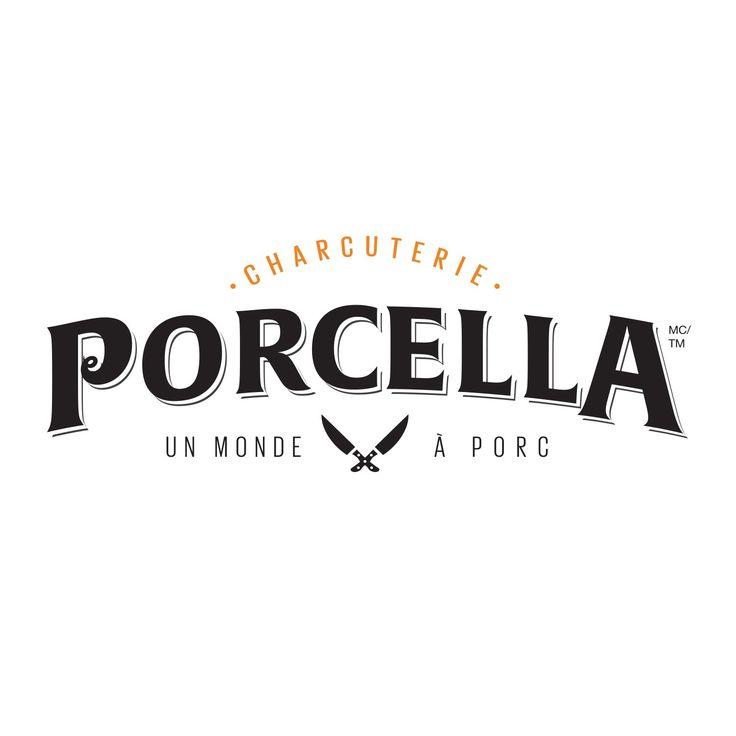 Agence Team est fière d'avoir développé le « branding » de la toute nouvelle marque Porcella.  #agenceteam #agencemarketing #branding