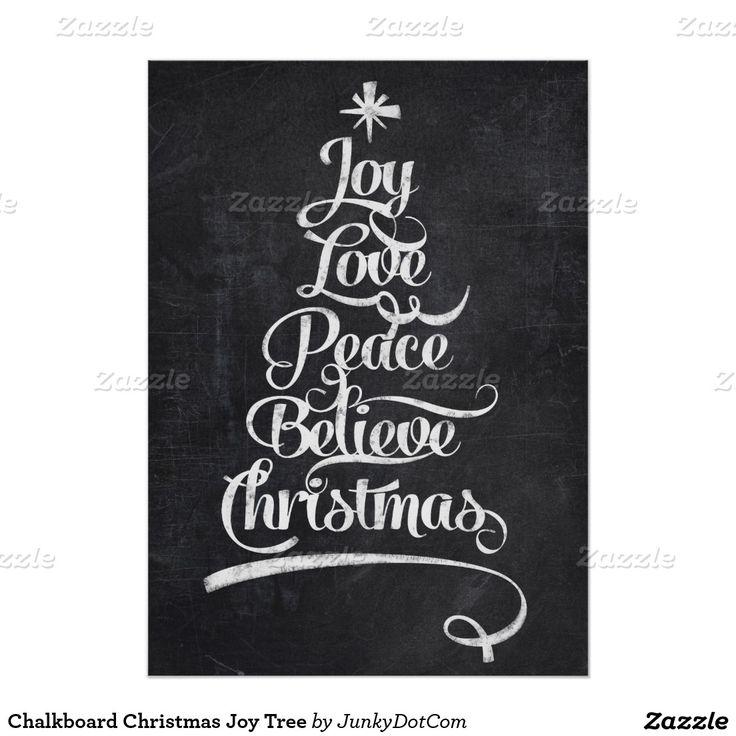 黒板のクリスマスの喜びの木♡ステキ!冬の結婚式のウェルカムボードアイデア一覧♡