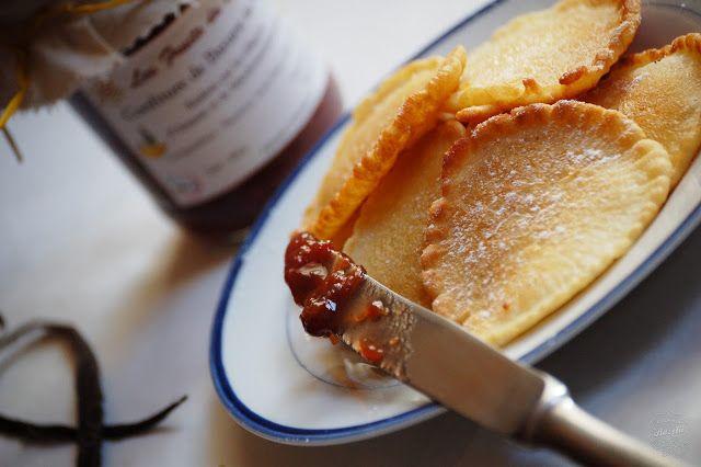 Kuchnia Bazylii: Placuszki śniadaniowe z konfiturą bananową