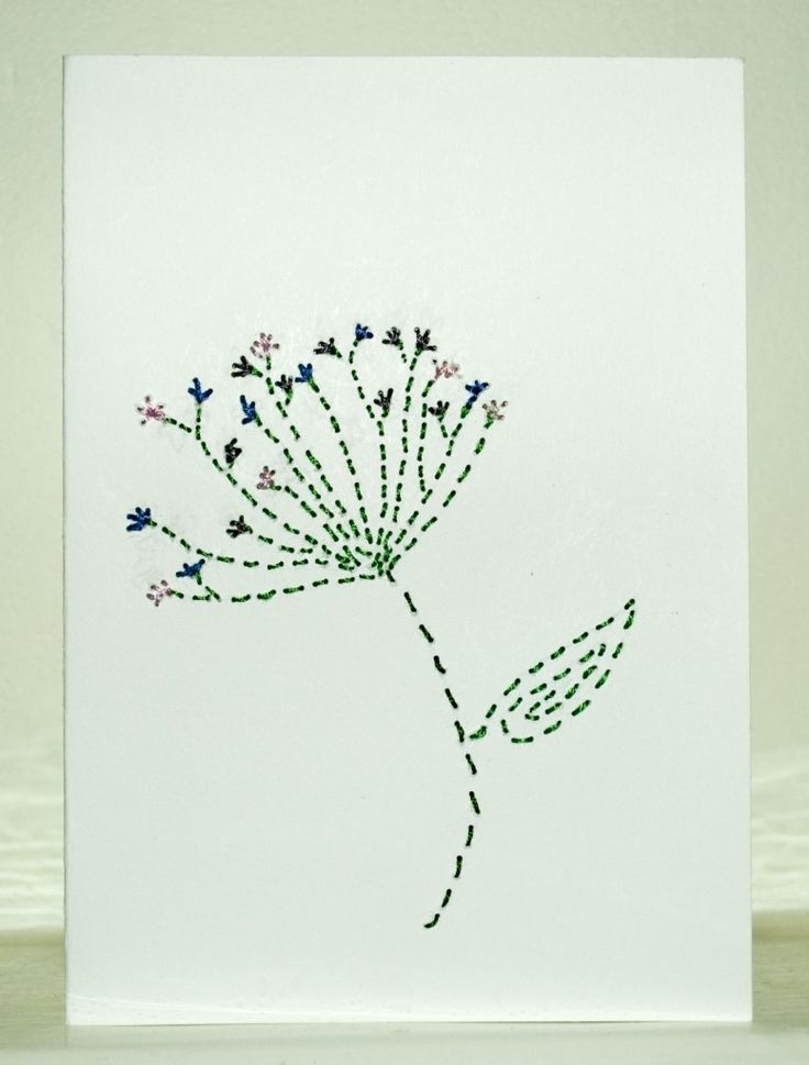 Best images about stitched cards on pinterest