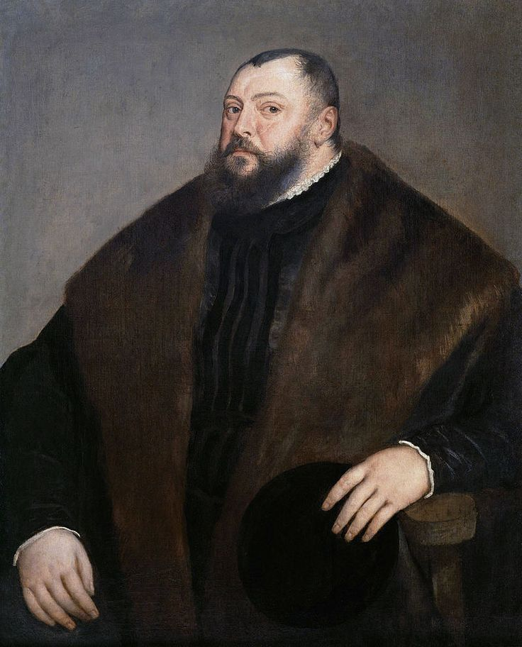 Titian: Elector of Saxony, John Frederick I., the Magnanimous, 1503-1554 (Kurfürst Johann Friedrich, der Grossmütige), 1548, Vienna, KHM, from commons.wikimedia