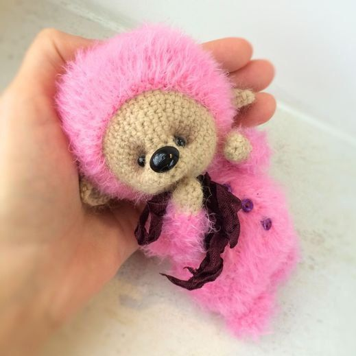Plush Bear stuffed toy bear plush teddy bear pink stuffed bear