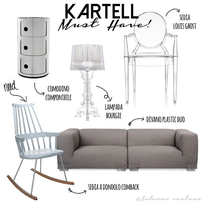 Kartell. Must Have!  Blog Interno ventuno http://internoventuno.blogspot.it/2015/09/kartell-must-have.html
