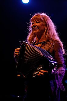 she has played on the streets also Loreena McKennitt - Wikipedia, the free encyclopedia