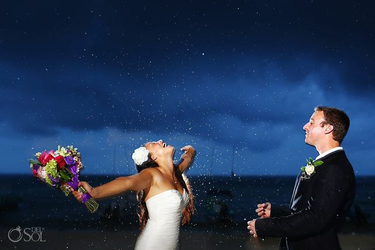Love the brightness of the couple and the depth of color in the background