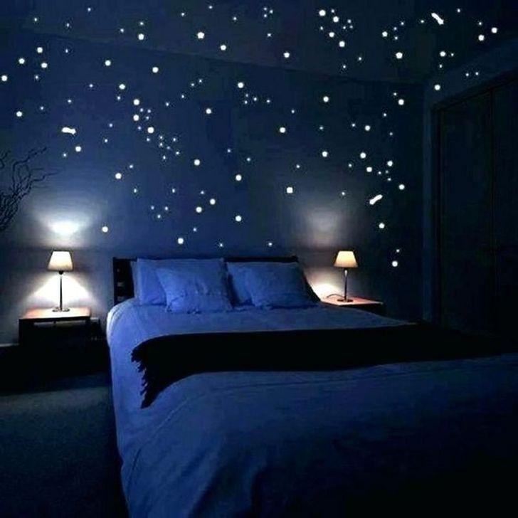 36 Comfy Bedroom Design Ideas With Galaxy Themes For Your Kids Bedroom Design Small Bedroom Decor Master Bedrooms Decor