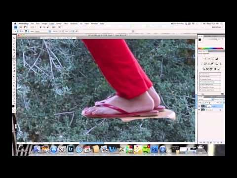 How to make levitation photography!  This guy is awesome to explain, demonstrate, and teach quick photo tricks!