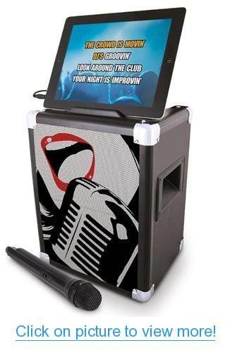 ION Audio IPA46 Karaoke Pro Professional Karaoke System for iPad