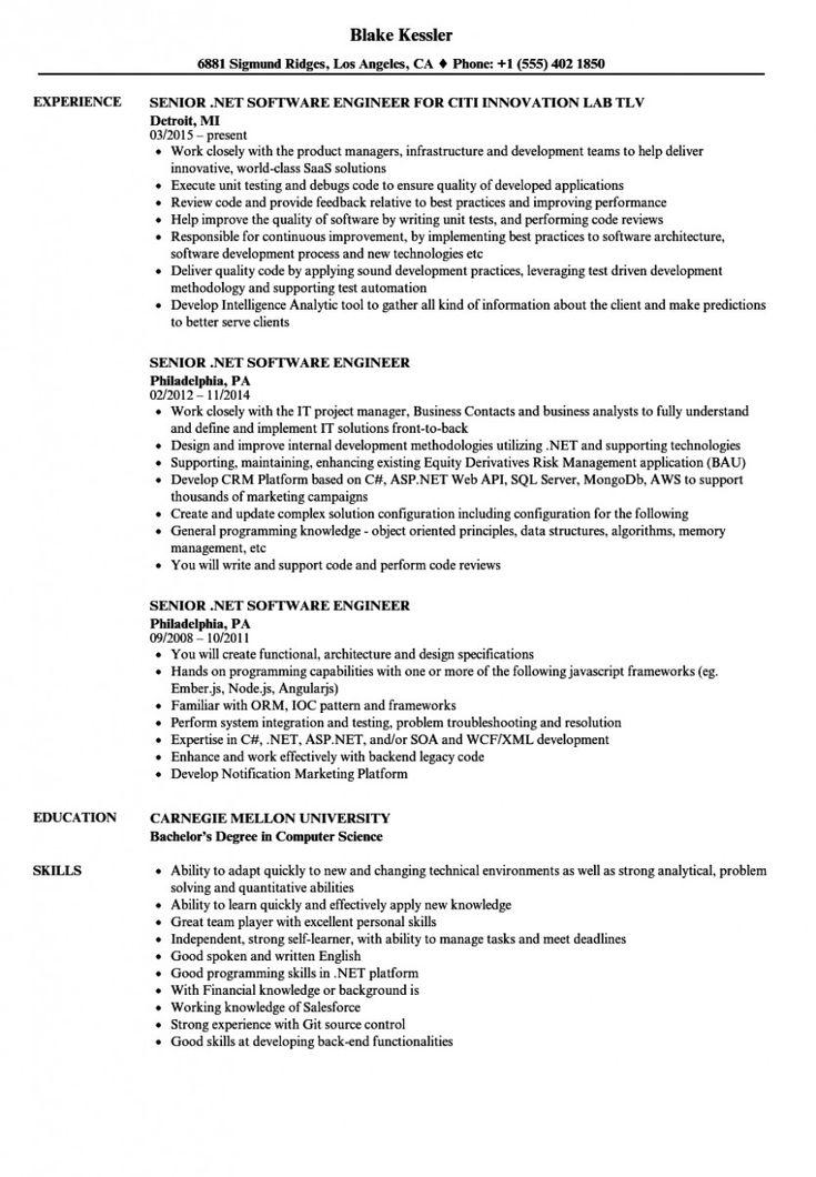 12 software engineer resume in 2020 software engineer