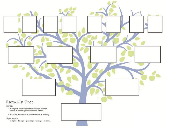 Best 25+ Blank family tree template ideas on Pinterest | Blank ...