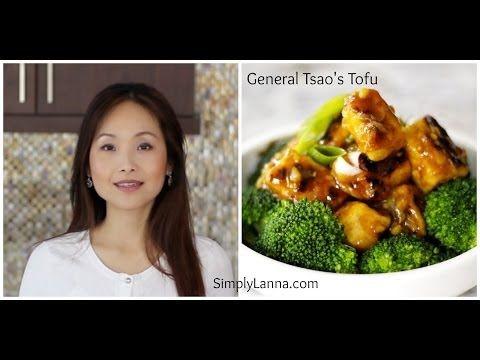General Tsao's Tofu (vegetarian, vegan, gluten free) - YouTube