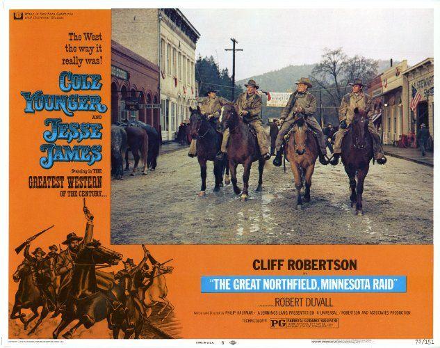 Robert Duvall and Cliff Robertson in The Great Northfield Minnesota Raid (1972)