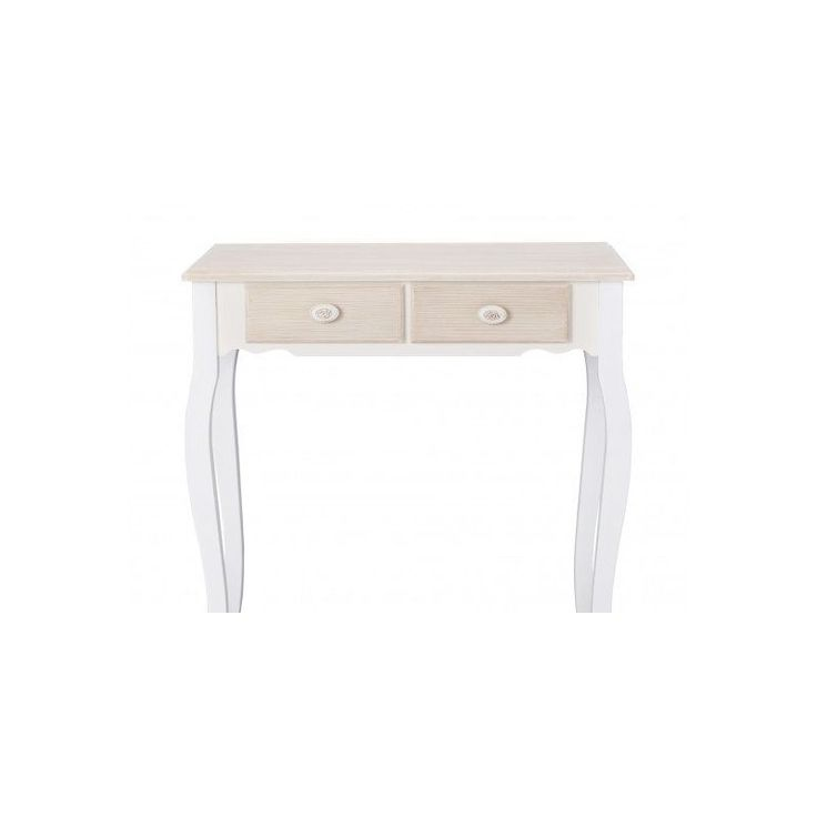 Wooden Dressing Table White Drawers Vanity Make Up Solid Wood Bedroom  Furniture
