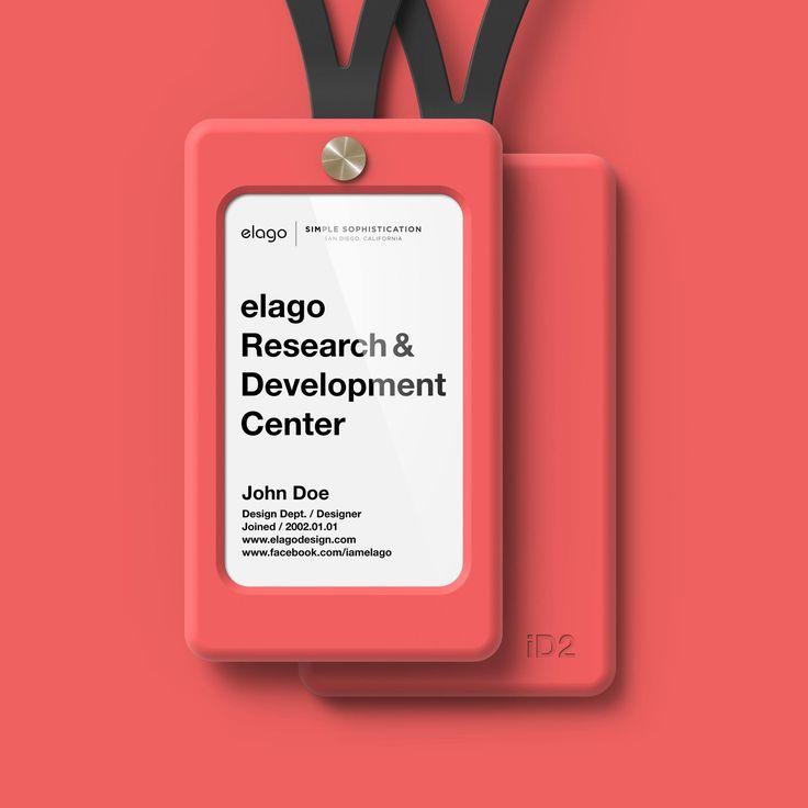 elago ID2 ID Card Holder - Italian Rose