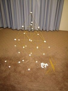 Spaghetti and marshmallow tower-a firm foundation - we did this for our last activity.  The girls had a lot of fun and I was surprised by how busy it kept them.