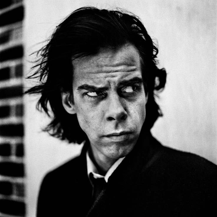 Nick Cave, London, 1996 by Anton Corbijn