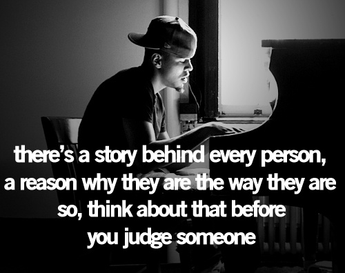 Never judge a book by its cover .