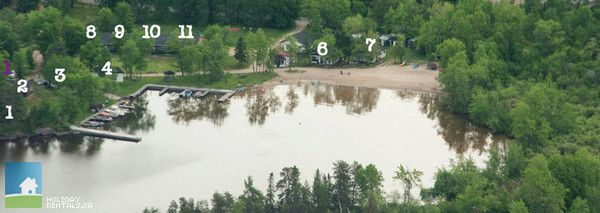 Cottage Country Listing #190695 - Chalkley's Sandy Bay Cottage Resort in Lake Nipissing - Cottage Country Rentals