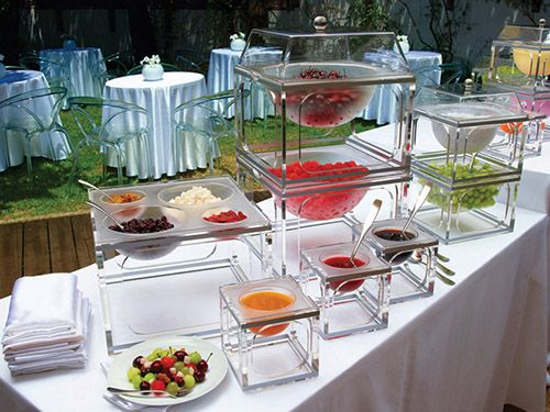 1000 ideas about catering food displays on pinterest for Canape display stands