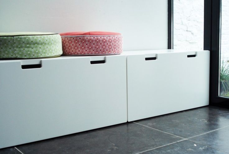 Ikea Stuva... modern and clean toy storage with bench above (or more ...