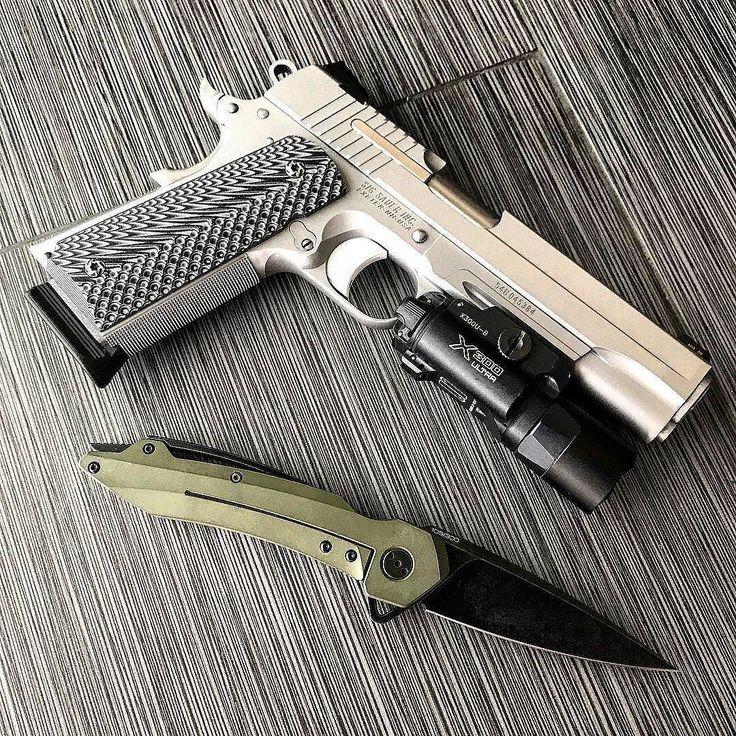 Sig Sauer 1911 - Mr Belvedere QSE-11OD   .  .  .  .   @pete.556  #sigsauer #sigsauerusa #sigsnob #sig1911 #45acp #gun #guns #gunsdaily #gunsofinstagram #gunporn #gunfanatics #gunpictures #handgun #pistol #murica #2a #2ndamendment #hashtagtical #pewpewlife #pewpew #sickguns #weapon #weapons #weaponsdaily #weaponsfanatics #vzgrips #qtrmstr #knife #knifeporn #knifeofinstagram http://ift.tt/2vegTxO