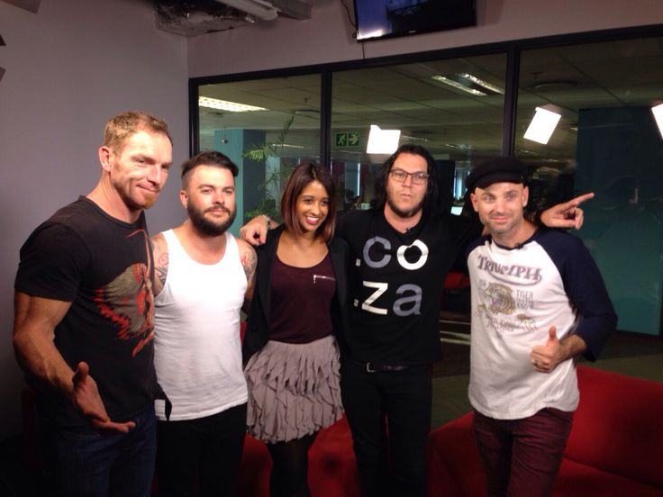 Interview on tour  #antefacts #parlotones