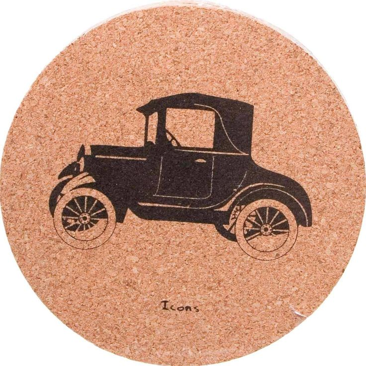 The Antique Car Cork Coaster Set is the perfect ornamentation with value that you need for your table and desktops. Coasters are valued because of their use for protecting tabletops from the condensat