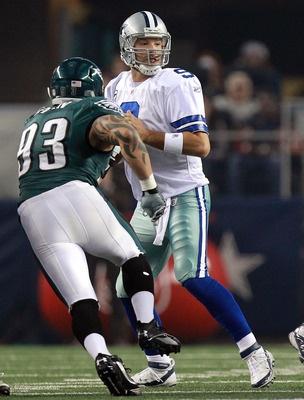 Who Are the NFL's Most Dominant Defensive Linemen? 15. Jason Babin, DE, Philadelphia Eagles