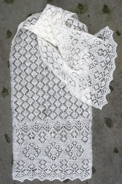 Knitting Patterns For Wi Wool : St. Ninians Scarf - Jamieson and Smith, Real Shetland Wool, Fair Isle Kn...
