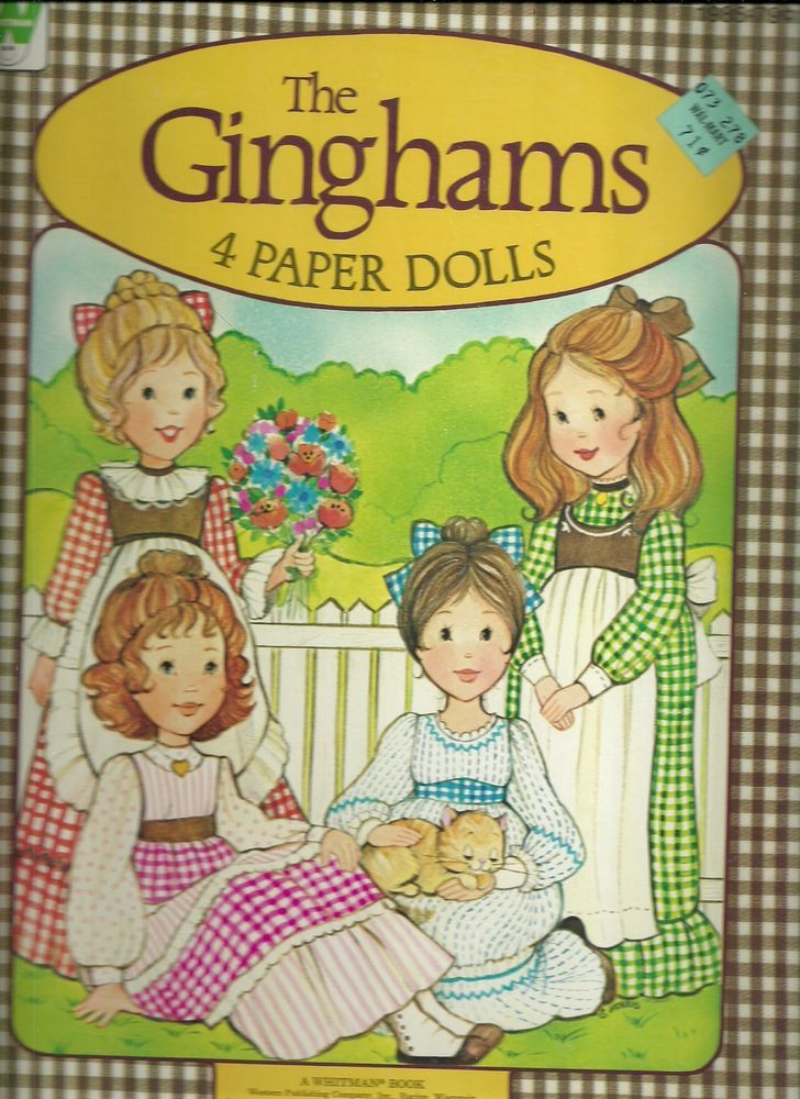 THE GINGHAMS AND PEE WEE PAPER DOLLS VINTAGE UNCUT ORIGINALS