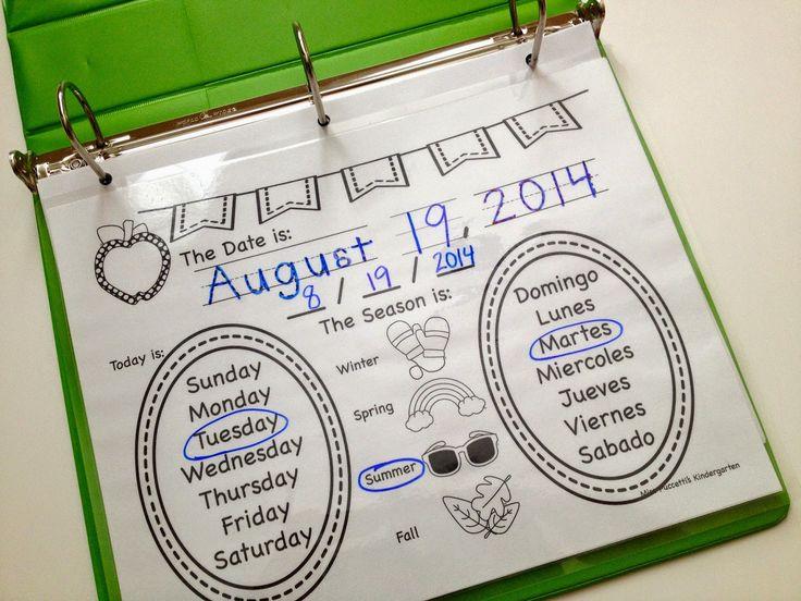 Kindergarten Calendar Interactive : Best interactive calendar for kindergarten images on