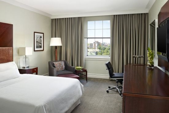 Our luxurious Traditional Guestroom - overlooking Cornwallis Park in downtown Halifax.