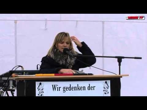 Volkstrauertag 2012: Rede von Heidi M. in Berlin
