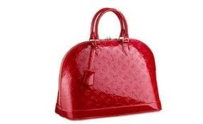 red Louis Vuitton