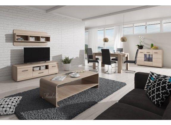is een complete woonkamerset in een modern landelijke stijl. Deze set ...