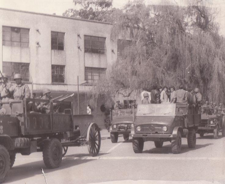 11 de septiembre de 1973 en la Universidad de Concepción.