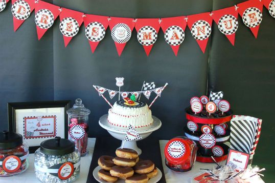The Party Wagon - Blog - RACE CAR PARTYRacing Theme, Racing Cars Birthday, Birthday Parties, Theme Parties, Racing Cars Parties, Boys Parties, Parties Ideas, Parties Theme, Baby Shower