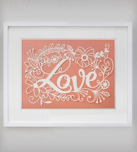 Love Papercut Art by Epic Layers on Scoutmob Shoppe.use as inspiration for a quilling project