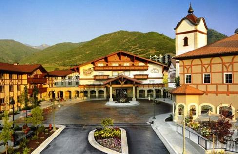 Zermatt Resort  in Midway, Utah (A little Switzerland in the US)