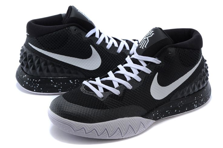 new product c4f20 f85c7 NIKE KYRIE 1 BASKETBALL BLACK WHITE 705277 001 $119 | NIKE KYRIE IRVING 1  BASKETBALL SNEAKERS | Pinterest | Kyrie irving shoes, Irving shoes and  Basketball ...
