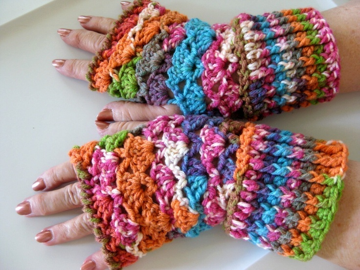 327 Best Fingerless Gloves Images On Pinterest Fingerless Gloves