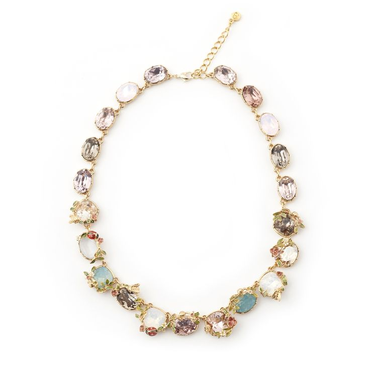 Scenes of Nature Statement Necklace