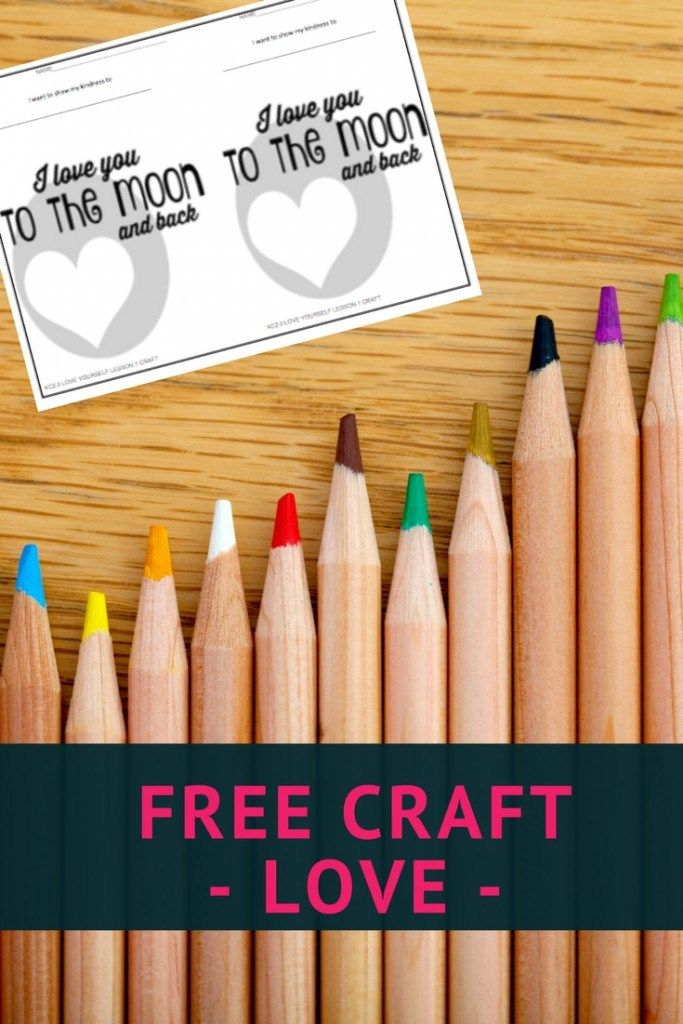 Free Craft about Love | Bible Verses | Bible lessons for kids