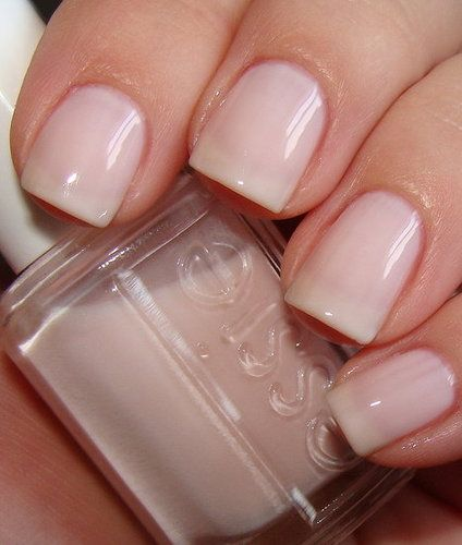 Ballet Slipper by Essie My favorite everyday nail polish!