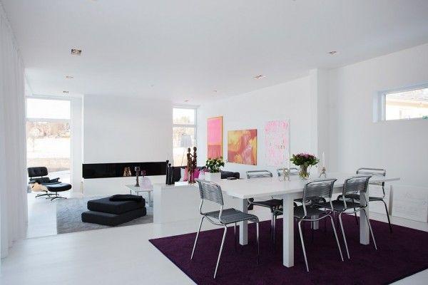 Modern Swedish Villa Dining Room 2